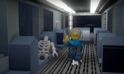 resident evil 2 lego 1 - Watch Ten Minutes Of RESIDENT EVIL 2 Recreated In LEGO DIMENSIONS