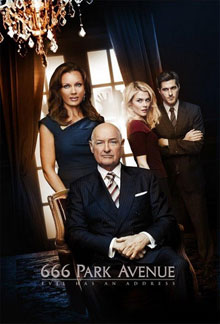666promo - New Promo Posters for 666 Park Avenue Are Heavy on Sex but Light on Scares