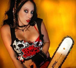 chains1 - Dread Central's Online Film Screening Series on Constellation.tv Presents The Chainsaw Sally Show Season 2, Part 1, With JimmyO and April Burril