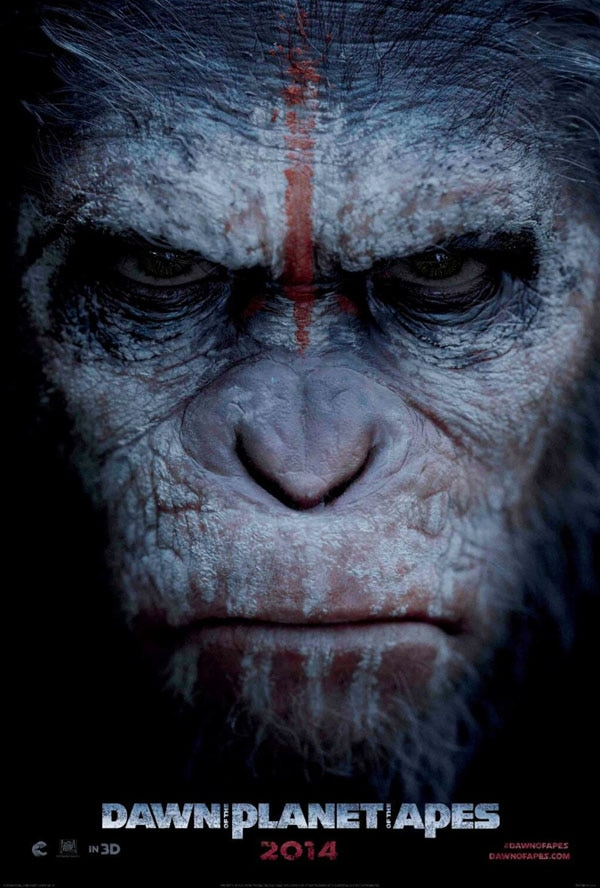 dawn of the planet of the apeas poster 1 - Dawn of the International Planet of the Apes Trailer
