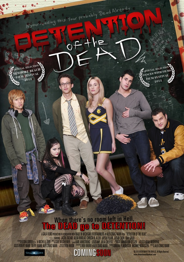 ddead - Exclusive: Director Alex Craig Mann Talks Detention of the Dead and More