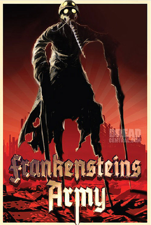 frankensteins army art - Richard Raaphorst and Karel Roden Talk Frankenstein's Army's Intensity, Creating the Film's Zombots, and Lots More