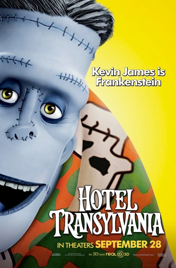 htc2 - New Hotel Transylvania Posters Finally Get Funny