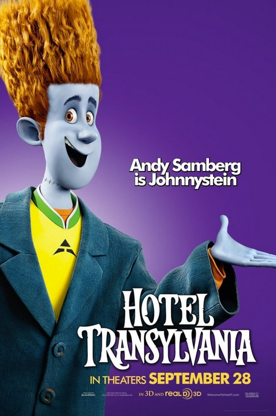 htc5 - New Hotel Transylvania Posters Finally Get Funny