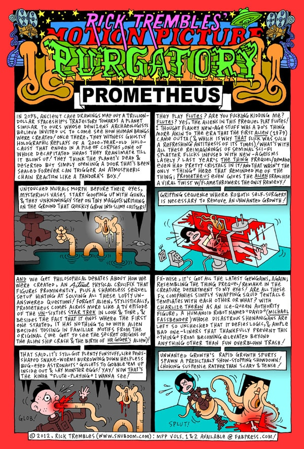 mpp prometheus - Motion Picture Purgatory: Prometheus