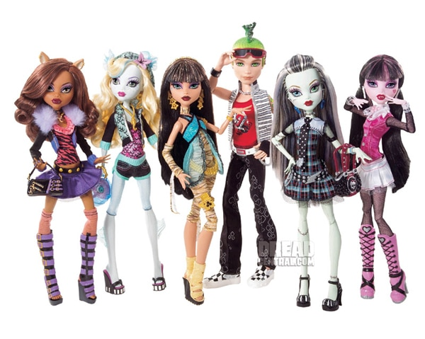 mhd - Mattel Launches Monster High