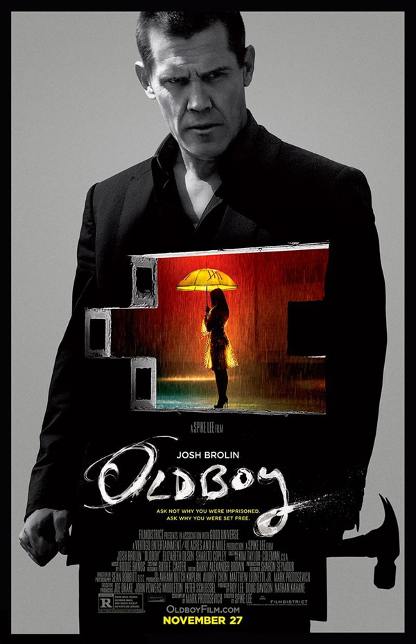 oldboy poster new - Two New Oldboy Clips Travel to Familiar Haunts to Meet Evil