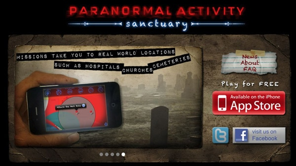 Find a Sanctuary for Paranormal Activity on Your iPhone