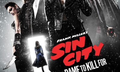sin city a dame to kill for poster - #SDCC14: We Rev Up for the Sin City: A Dame to Kill For Automotive Experience!