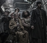 snowpiercer s - Chris Evans Fights His Way to Front of New Snowpiercer Poster