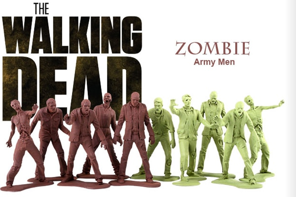 twdarmy - Gentle Giant Wants to Help You Build Your Own Walking Dead Zombie Army