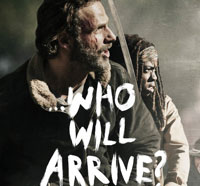 twdwhowillarrives - New The Walking Dead Season Finale Poster Wonders Who Will Arrive?