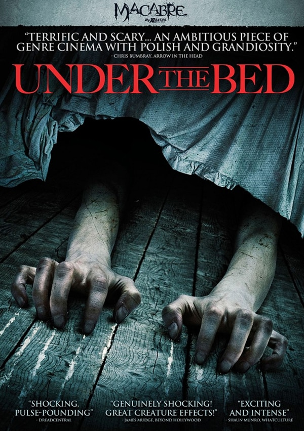 under the bed poster - An Image Gallery Peeks Out from Under the Bed