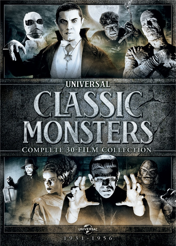 uni box - Universal Releasing a Monster Sized DVD Box Set of 30 Films!