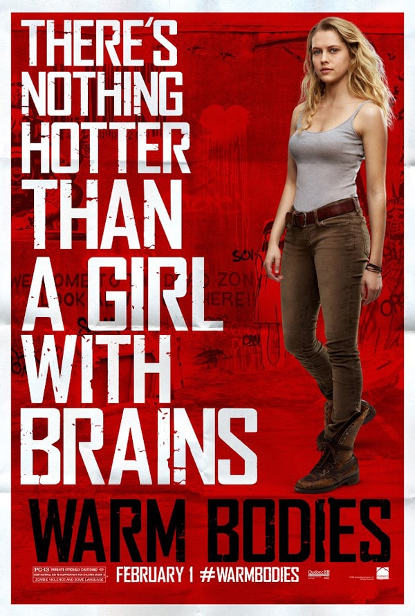 wb4 - More Warm Bodies One-Sheets to Tickle Your Funny Bones and Then Some!