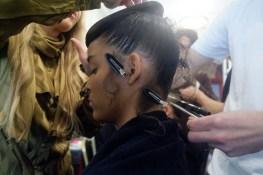 Hair styling at PFW image by ©akin abayomi