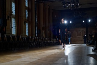 rehearsal for YDE SS16 show