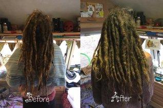 2 - dreadlock deep clean (hair photo)