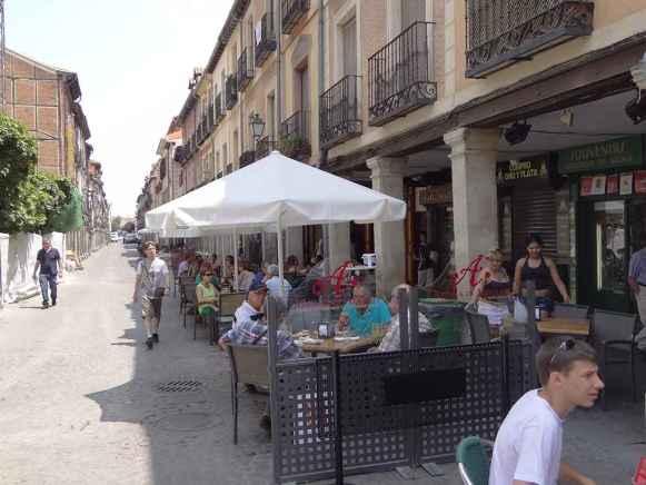 Calle Mayor de Alcalá de Henares - Tapas