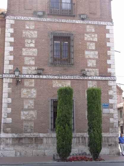 Plaza de Cervantes - Esquina calle Colegios