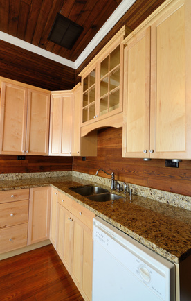 A Wood Backsplash Is A Great Alternative