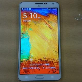 au Galaxy Note 3