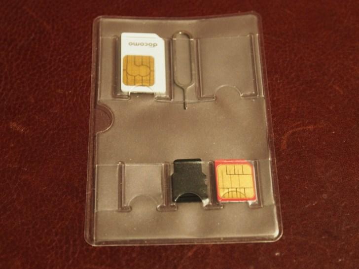 SIMカードホルダー