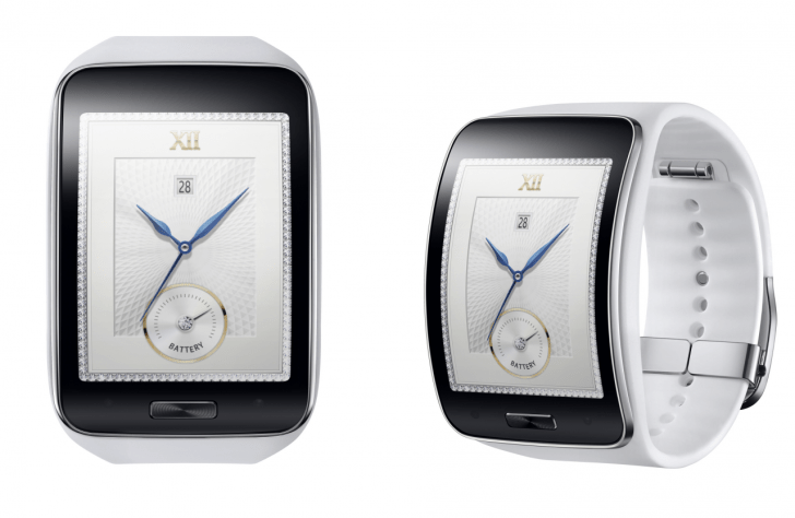Samsung Gear S_Pure White