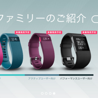 Fitbit_公式サイト:活動量計その他