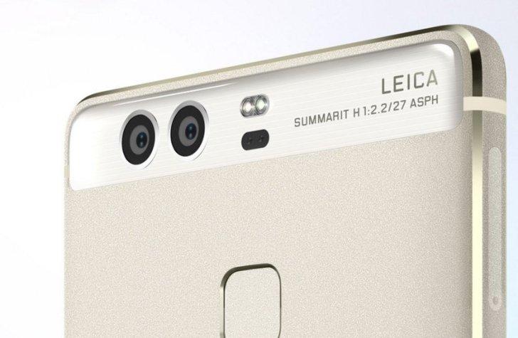 Huawei P9 デュアルカメラ