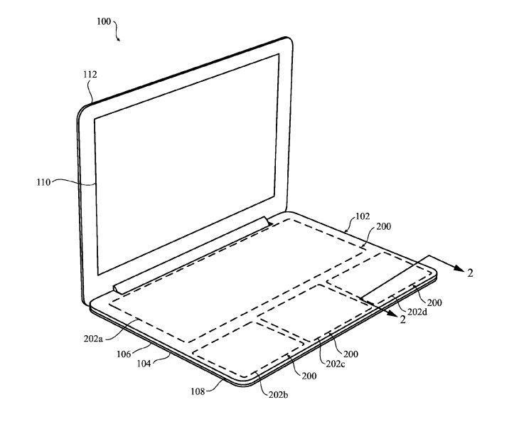 Apple キーボードがないMacBookの特許を出願
