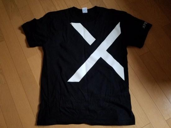 Xperia Tシャツを頂きました。
