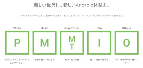 「Android Experiments OBJECT」