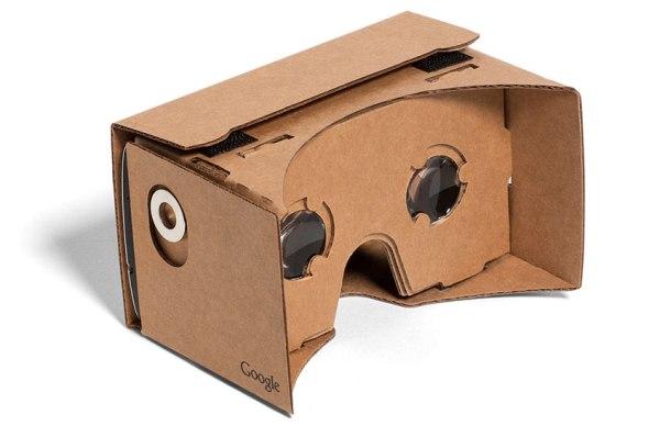 マグネットスイッチのある初代Cardboard