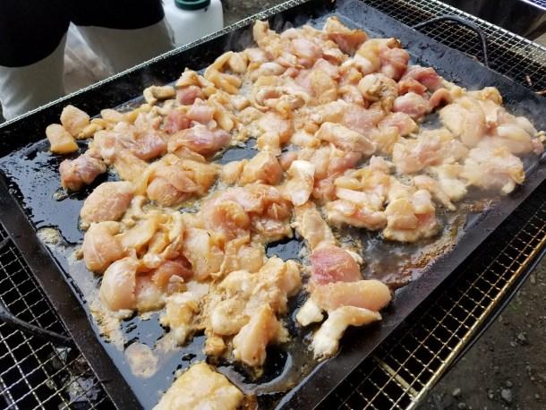 ワニの生姜焼き
