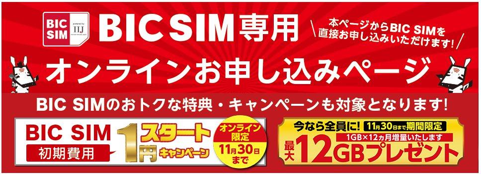 IIJmio BIC SIM