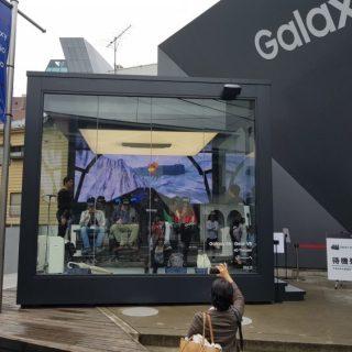 原宿にGalaxy Studioがオープン。大掛かりな体感型VRも無料で体験可能