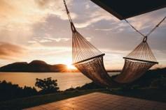 石垣島 ハンモックで迎える朝