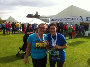 Jolly Joggers after Great Scottish Run