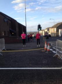 Jolly Joggers jogscotland group during an evening session