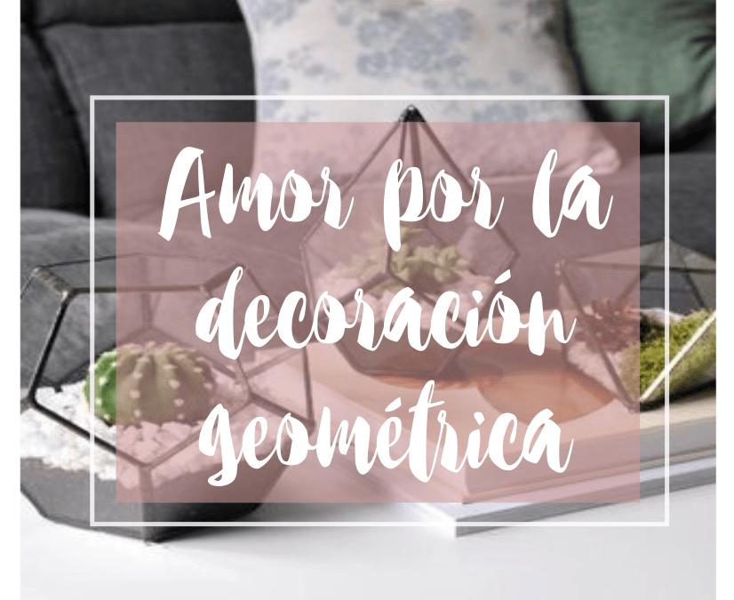 Amor por la decoración geométrica