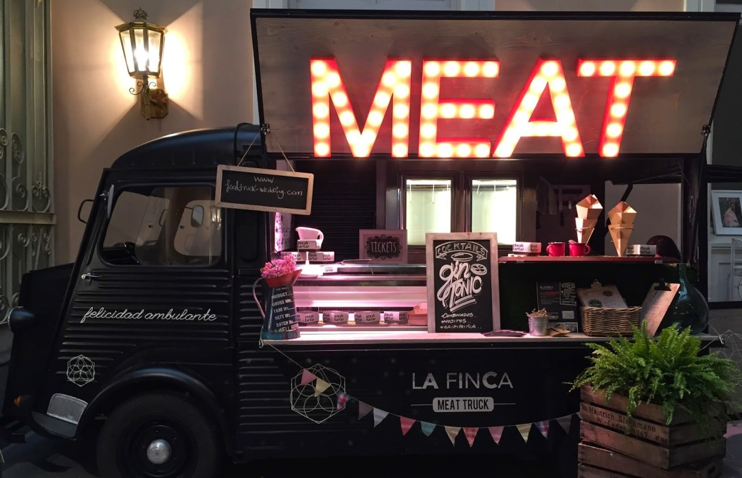 Food TRuck Wedding La Finca