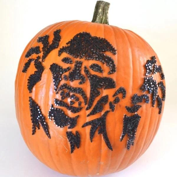 Zombie String Art Pumpkins No Carve Dream A Little Bigger