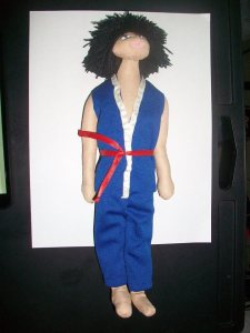 aroku plush action figure