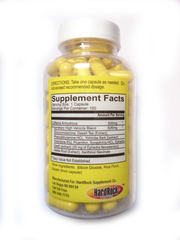 Yellow bullet ingredients and dosage
