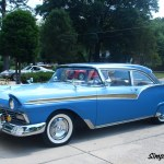 1957 Ford Fairlane 500 Sold Club Coupe