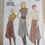 Diy Vogue Asymmetric Drape Skirt Dream Cut Sew