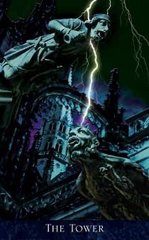 Bohemian Gothic Tarot Tower