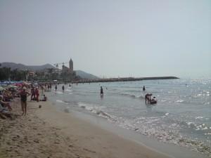 Strandaufnahme