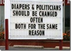 windeln und politiker